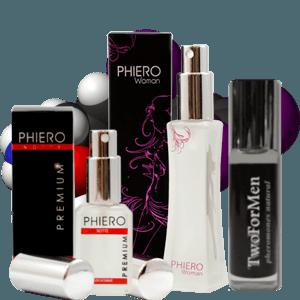 Perfume feromonas
